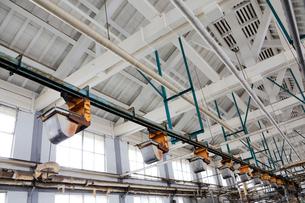富岡製糸場の操糸場の写真素材 [FYI02656132]