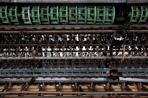 富岡製糸場の操糸場の写真素材 [FYI02656188]