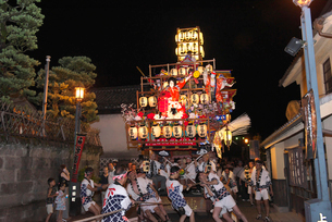 日田祇園祭の写真素材 [FYI02656329]