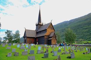 スターブ教会の写真素材 [FYI02656391]