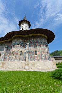 スチェヴィツァ修道院の写真素材 [FYI02656642]