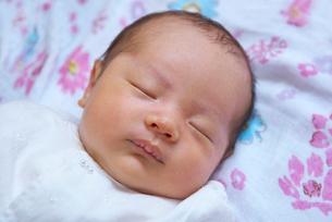 生後30日の赤ちゃんの写真素材 [FYI02656673]