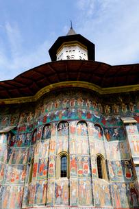 スチェヴィツァ修道院の写真素材 [FYI02656703]