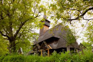 木造教会の写真素材 [FYI02656720]