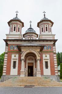 シナイア僧院の写真素材 [FYI02656872]