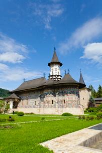 スチェヴィツァ修道院の写真素材 [FYI02656879]