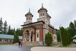 シナイア僧院の写真素材 [FYI02656885]