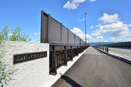 フェニックス大橋と山並みの写真素材 [FYI02657011]