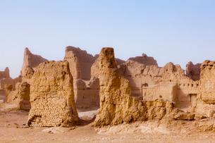 交河故城の写真素材 [FYI02657152]
