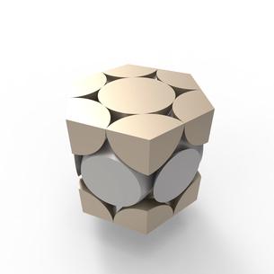 六方最密構造のイラスト素材 [FYI02657231]