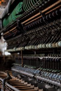 富岡製糸場の操糸場の写真素材 [FYI02657299]