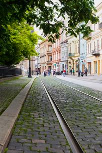 旧市街の写真素材 [FYI02657530]