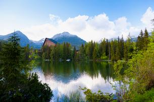 シトゥルバ湖の写真素材 [FYI02657782]