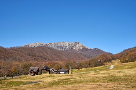 奥大山スキー場より望む大山の写真素材 [FYI02657813]