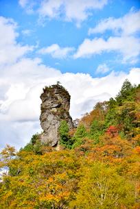 秋のちょうちん岩の写真素材 [FYI02657928]