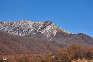 奥大山スキー場より望む大山の写真素材 [FYI02657969]