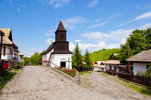 教会と街並の写真素材 [FYI02658005]