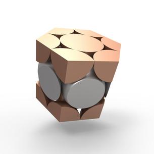 六方最密構造のイラスト素材 [FYI02658081]