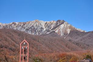 奥大山スキー場より望む大山の写真素材 [FYI02658108]