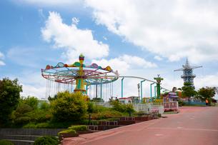 生駒山上遊園地の写真素材 [FYI02658124]