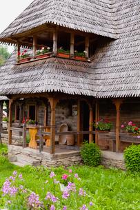 イエウドの村の家の写真素材 [FYI02658136]