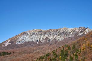 奥大山スキー場より望む大山の写真素材 [FYI02658167]