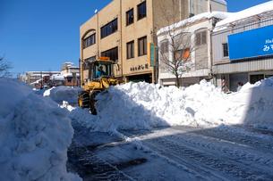 除雪風景の写真素材 [FYI02658184]
