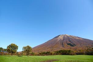 桝水高原より望む大山の写真素材 [FYI02658193]