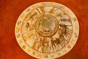 トラキア人の墓,フレスコ画の写真素材 [FYI02658238]