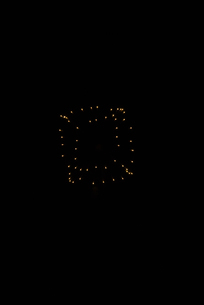 いせはら芸術花火大会 創造花火でキューブの写真素材 [FYI02658469]