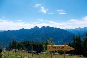 ラウシュベルク山からの眺めの写真素材 [FYI02658479]