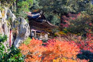 那谷寺大悲閣の写真素材 [FYI02658702]