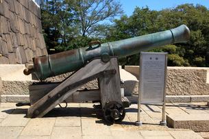 大阪城の大筒の写真素材 [FYI02658893]