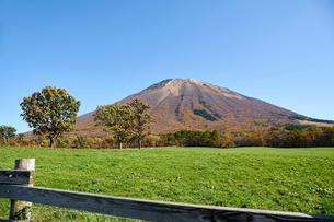 桝水高原より望む大山の写真素材 [FYI02658920]