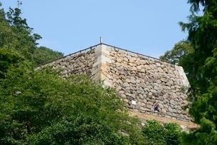 鳥取城跡の写真素材 [FYI02658958]