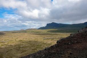 溶岩の大地の写真素材 [FYI02659284]