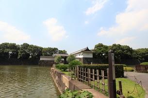 皇居 大手門の写真素材 [FYI02659320]