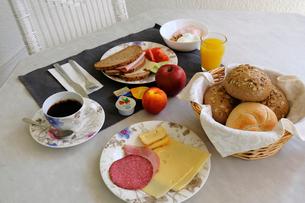 ドイツの朝食の写真素材 [FYI02659373]