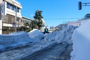 除雪風景の写真素材 [FYI02659415]