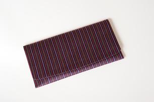 仙台平の財布の写真素材 [FYI02659565]