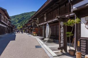 奈良井宿の写真素材 [FYI02659872]