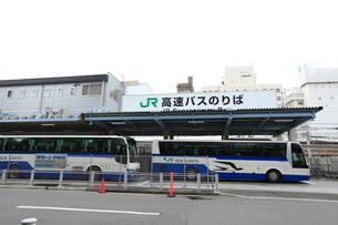 JR高速バスのりばの写真素材 [FYI02659880]