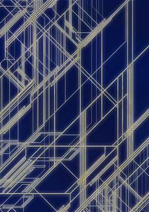 光ファイバーに見立てたラインのイラスト素材 [FYI02660126]