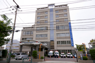 警視庁高井戸警察署の写真素材 [FYI02660256]