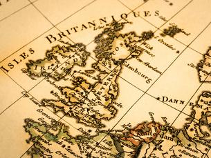 古地図 イギリスの写真素材 [FYI02660267]