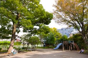 杉並区立宮下橋公園の写真素材 [FYI02660335]