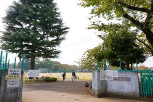 杉並区立富士見ヶ丘運動場の写真素材 [FYI02660364]