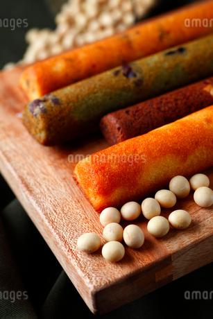 大豆で作ったスティックケーキの写真素材 [FYI02660501]