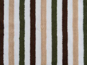 縞模様のタオルの生地の写真素材 [FYI02660561]