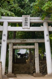 和泉熊野神社の写真素材 [FYI02660655]